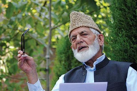 Geelani pays tributes to slain militant