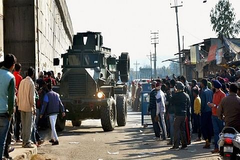 Abandoned car prompts alert in Pathankot