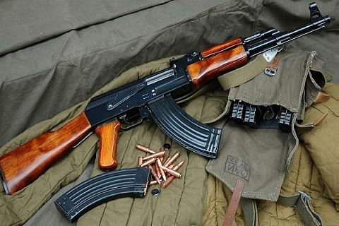 Central Kashmir: Rifle snatched from cop found dumped in nallah
