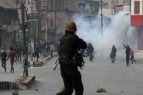Pellet terror returns; 15 injured