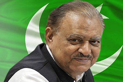 """I never attended school"": Pakistan President"