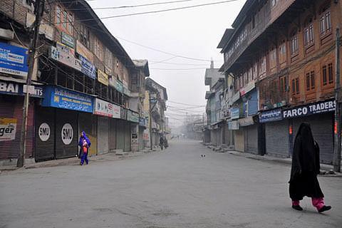 Separatist-sponsored strike affects normal life in Kashmir