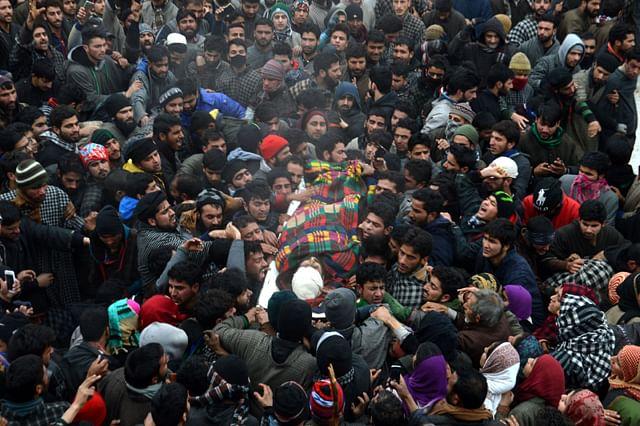 Funeral Of Adil Reshi In Bijbehara