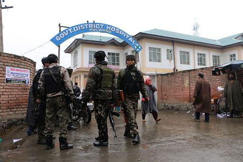 CRPF officer injured in militant attack in Pulwama