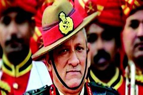 Will give hard response to terror: Army Chief