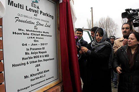 CM lays foundation of 2 major parking projects