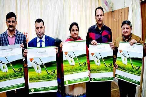 Calendar featuring Kashmir's golf potential released