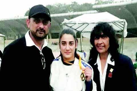 National School Games: Kabra Altaf wins gold medal