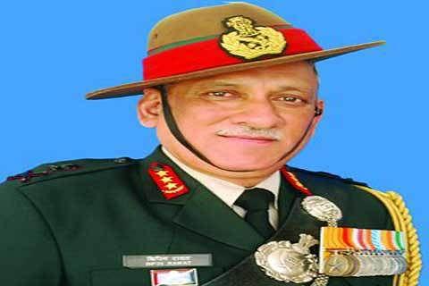 Army chief Gen Rawat to visit Jammu Kashmir today