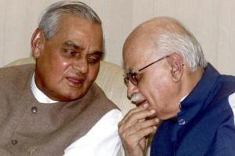 Vajpayee feared coup by Advani camp in 2002, says new biography