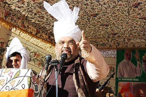 """India may again take """"out of box"""" action against Pakistan: Amit Shah"""