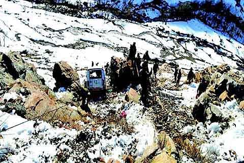 5 soldiers injured in Doda road accident