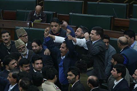 Shun rhetoric, talk to separatists: NC to Govt