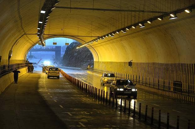 Opening of Nashri tunnel: Legislators propose, NHAI disposes