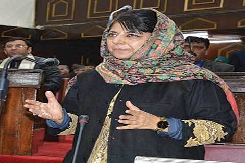 Funds allotted to DCs to meet exigencies: Mehbooba