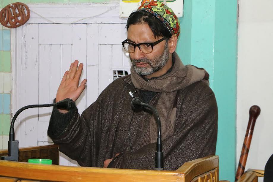 Yasin Malik decries raids
