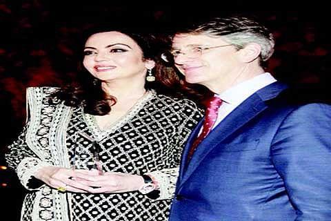 Nita Ambani honoured for philanthropic work