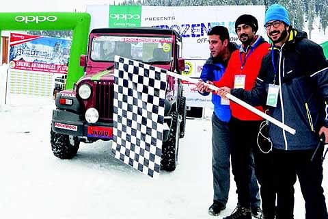 Frozen Rush-Off Road Snow Fest concludes at Gulmarg