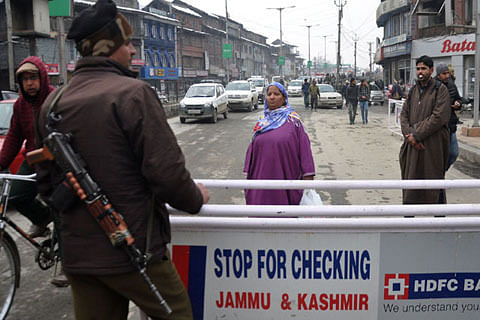 Heightened security ahead of R-Day in Jammu Kashmir