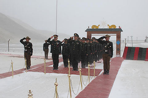 India-China border personnel meet in Eastern Ladakh