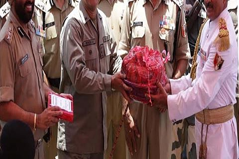 Celebrating R-Day: Indian, Pak troops exchange sweets in Poonch sector