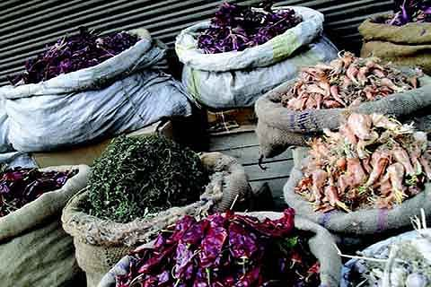 Snowy winter boosts dried veg, fish sales