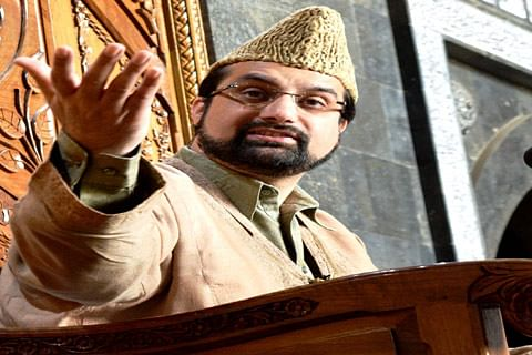 Video  Peace can't be achieved in environment of repression: Mirwaiz