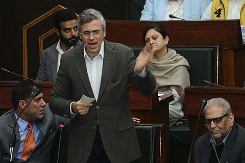 Watch Full Speech Here | Mehbooba following 'Doval doctrine' on Kashmir, says Omar