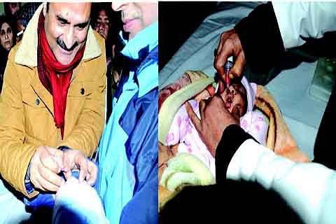 Pulse Polio Immunization campaign held across Kashmir