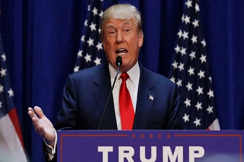"""Iran deal """"the worst"""" agreement ever negotiated: Trump"""