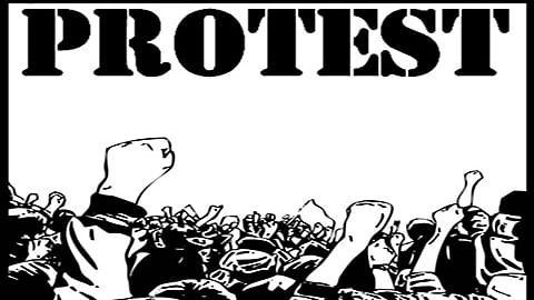 Bandipora villagers protest ban on stone quarries