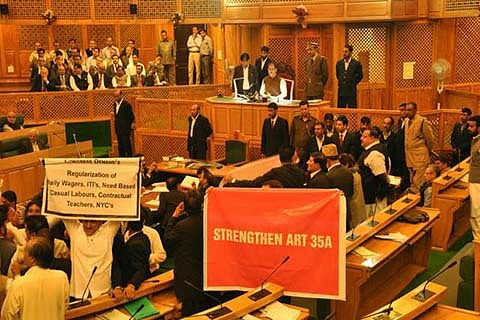 Messing with the Article 370