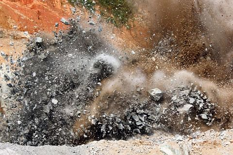 'Z-Morh Tunnel blasting damages our houses'