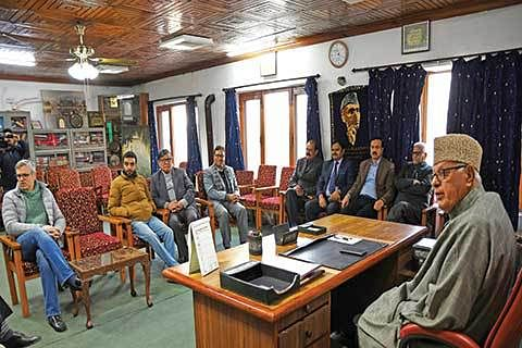 NC ups ante; Asks GoI to restart dialogue on Kashmir