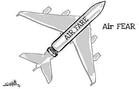 Rising airfares; SHRC to hear petition tomorrow