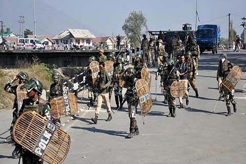 """Post Burhan Wani killing: """"2,580 CRPF men injured in JK"""""""