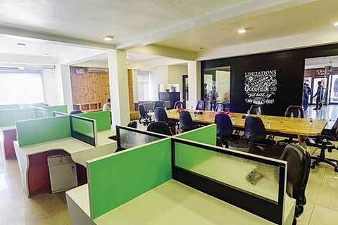 Developing co-working space for Kashmir businesses