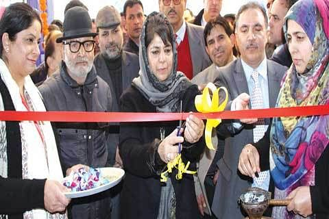 CM inaugurates currency chest complex Baramulla