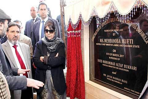 2017 will be year of infrastructure development, says Mehbooba Mufti