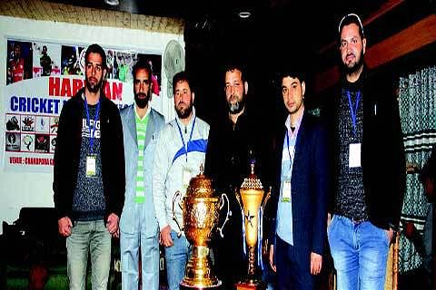 Harwan cricket league player's auction held