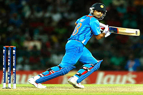 Injury scare for Kohli