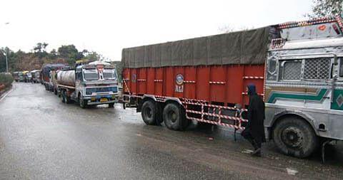 Over 300 vehicles stranded on Srinagar-Jammu highway
