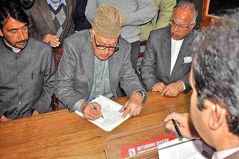 Bypolls a fight against communalism, says Farooq Abdullah
