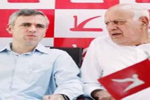 Dr Farooq, Omar Abdullah greet people on Nauroz