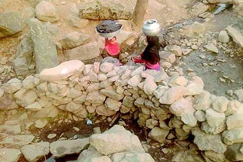 Water scarcity continue to pester Kishtwar residents