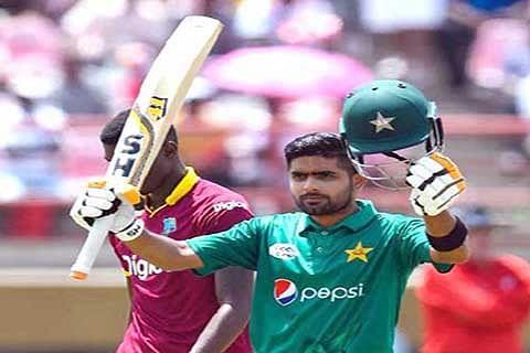Babar, Hasan lead Pakistan to 74-run victory