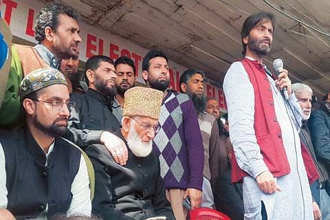 Resistance camp withdraws Wednesday's south Kashmir strike call