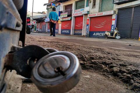 Shutdown in Chenab Valley against civilian killings in Kashmir