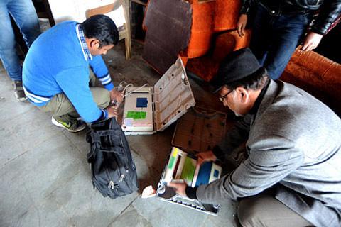 Nasrullahpora polling stations shifted to Takipora village