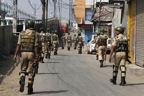 Video of youth slapping paramilitary troopers: CRPF to take strong action